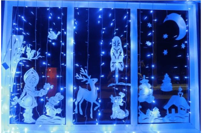 декор окан на новый год