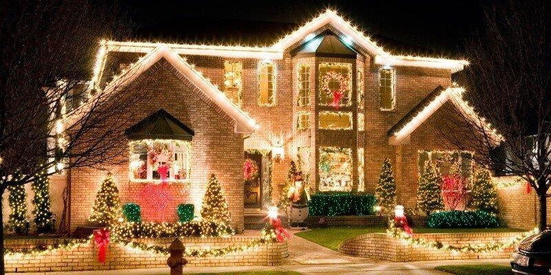 Украшение своего дома на Новый год