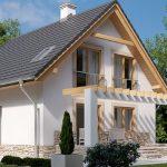 Проект двухэтажного дома по классическому дизайну LK1153