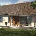Z7 Компактный дом с двускатной крышей