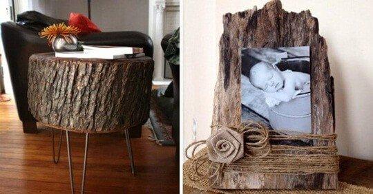 элементы декора из дерева