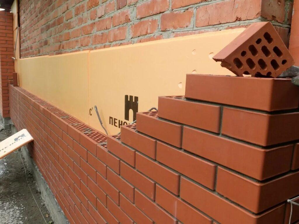 Применение ЭППС в стенах